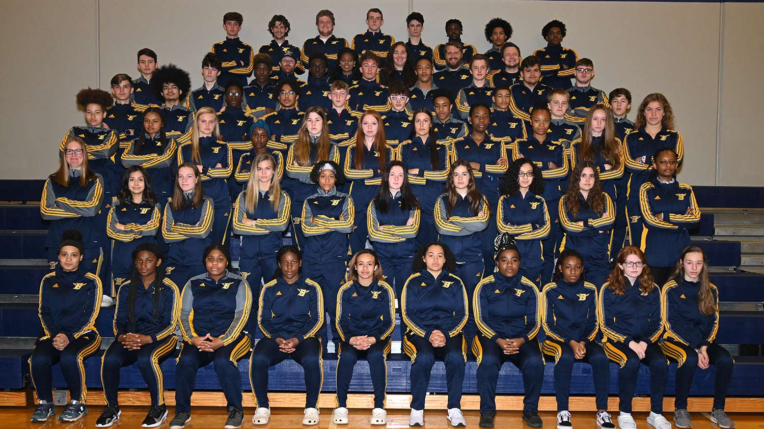 Track and Field Team Photo