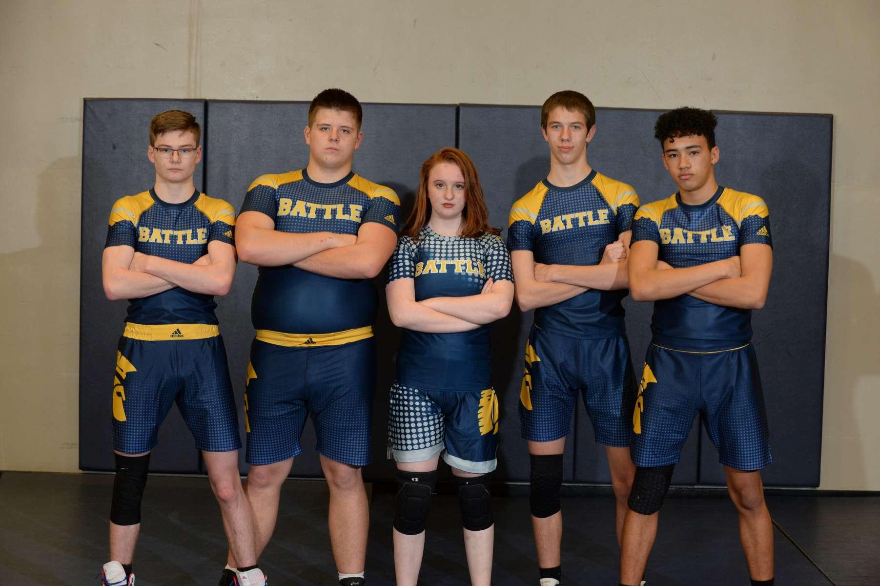 Boys Wrestling Team Photo