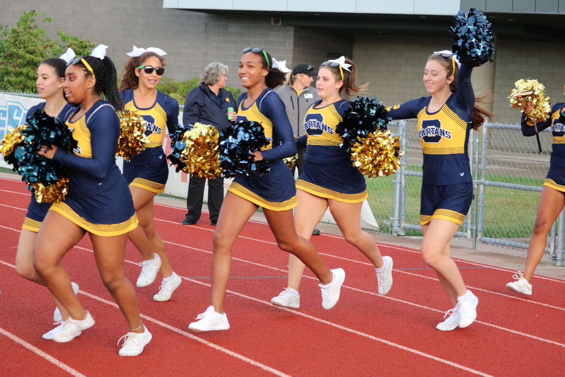 Battle Cheerleading Tryouts